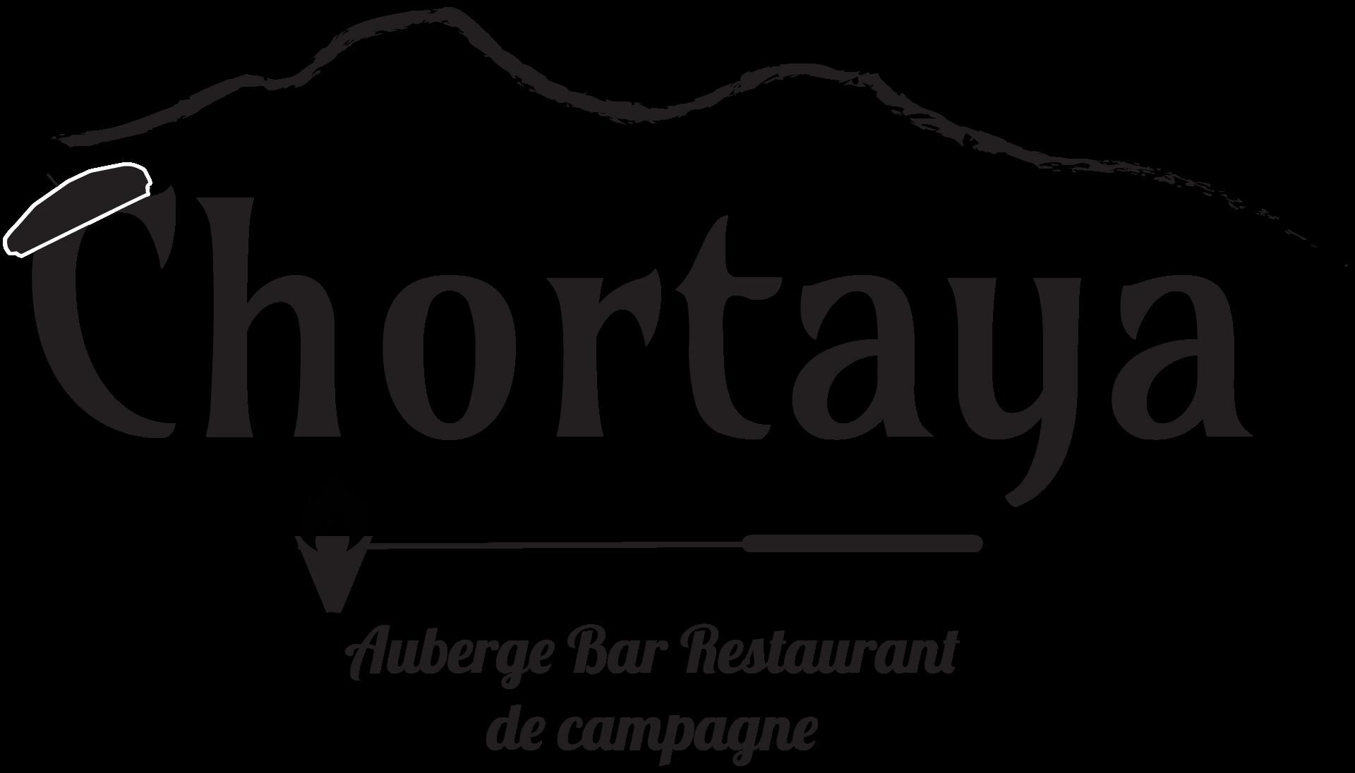 logo auberge chortaya noir